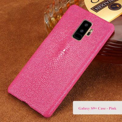 Stingray Skin Galaxy S9+ Plus Case-Pink