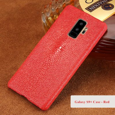 Stingray Skin Galaxy S9+ Plus Case-Red