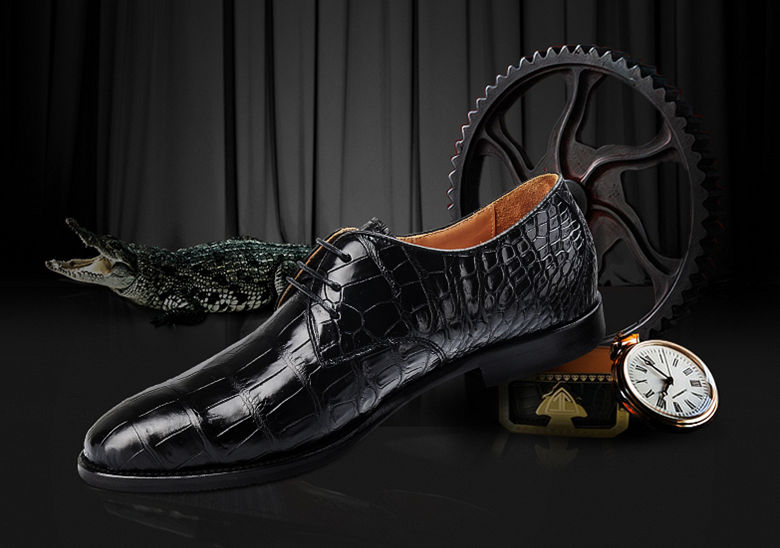 BEUCEGAO's Alligator Leather Shoes 2018