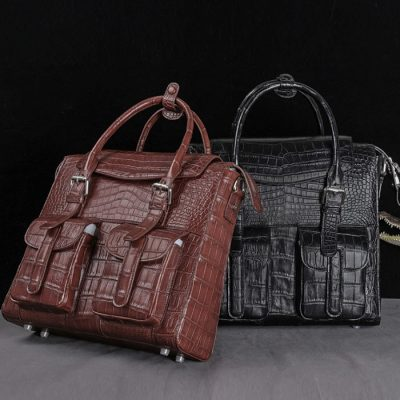 Casual Alligator Leather Crossbody Shoulder Messenger Handbags