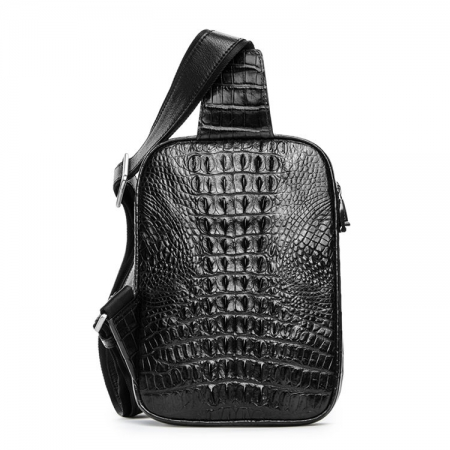 Crocodile Sling Bag, Alligator Sling Bag-Back