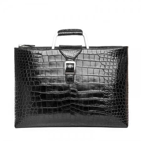 Fashion Alligator Briefcase Shoulder Cross-body Laptop Business Bag for Men