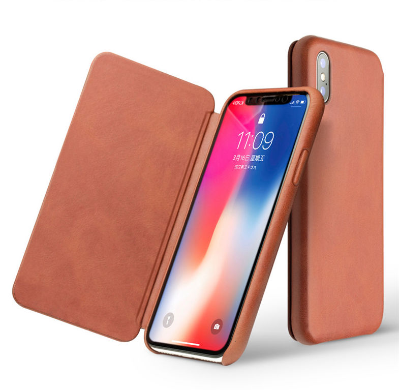 The flip cover for iPhone x