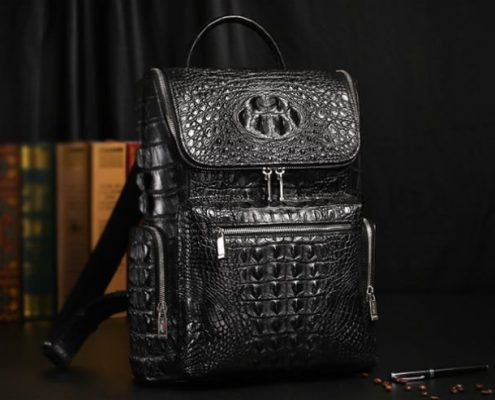 Alligator Skin Backpacks