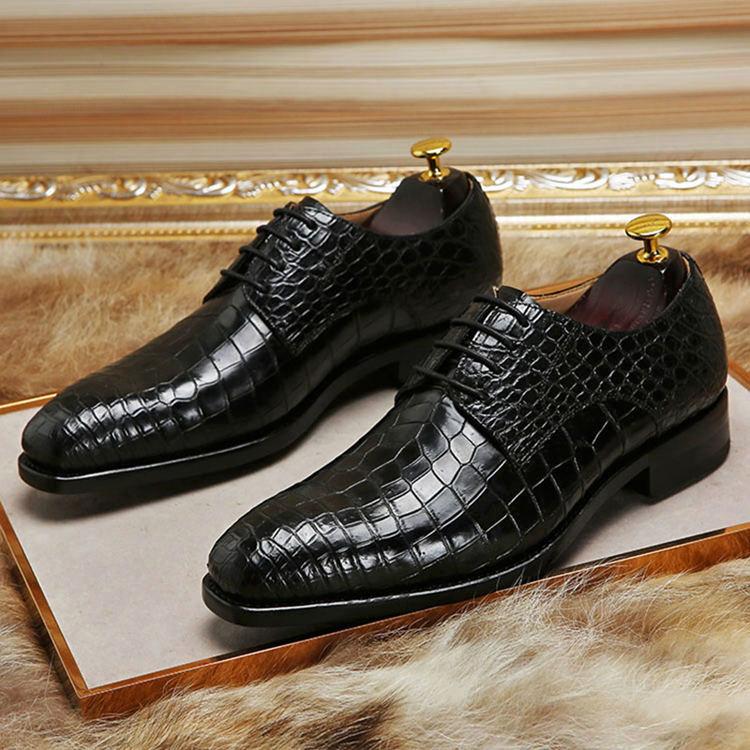 Artisanal Alligator Leather Dress Shoes