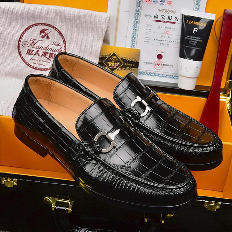 Artisanal Alligator Shoes