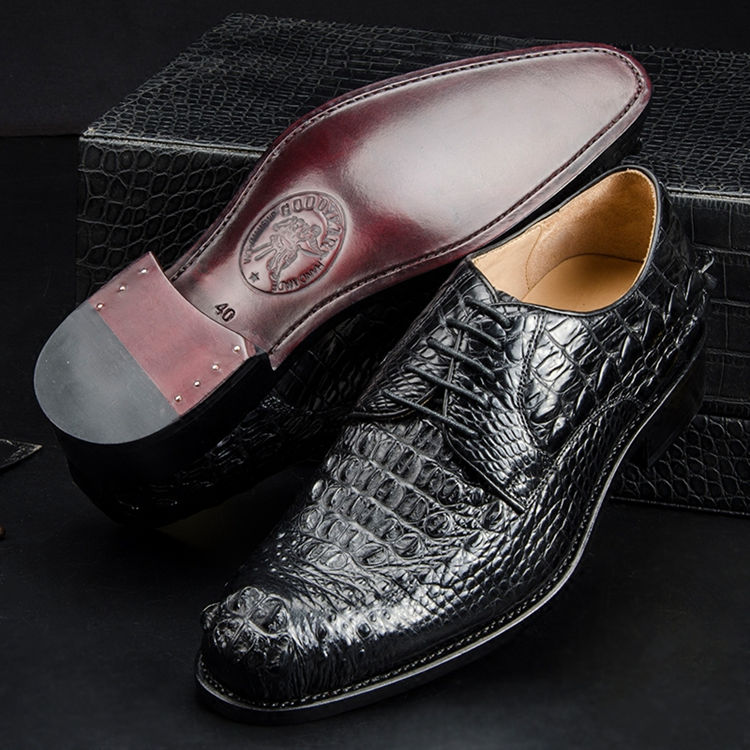 Goodyear welted shoes
