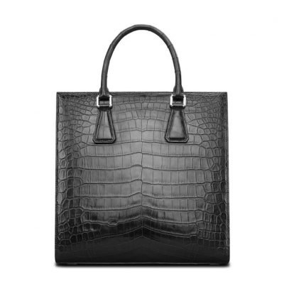 Unisex Alligator Briefcase Laptop Bag Business Tote