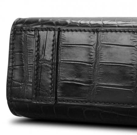 Unisex Alligator Briefcase Laptop Bag Business Tote-Details
