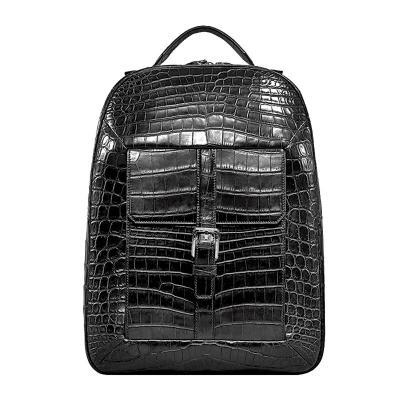 Alligator Leather Backpack Stylish Alligator Travel Bag
