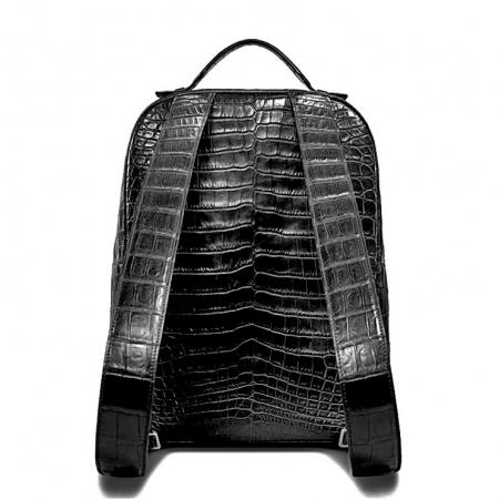 Alligator Leather Backpack Stylish Alligator Travel Bag-Back