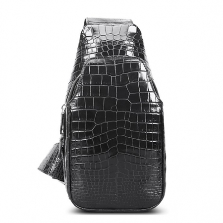 Alligator Skin Bag Outdoor Chest Pack Shoulder Backpack