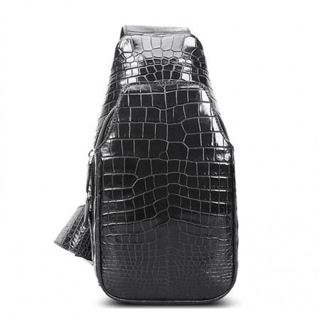 Alligator Skin Bag Outdoor Chest Pack Shoulder Backpack
