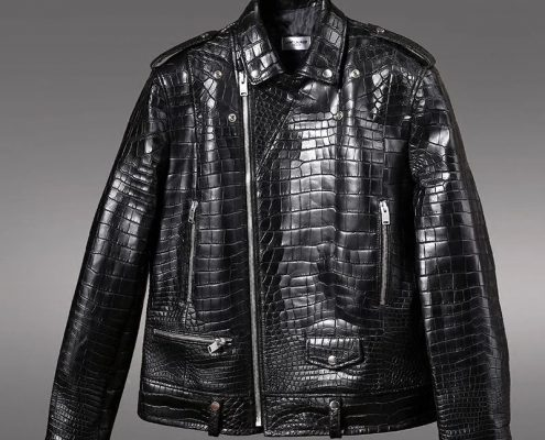 Alligator Skin Jacket, Alligator Skin Garment