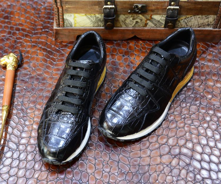 Alligator Skin for Leather Sneakers