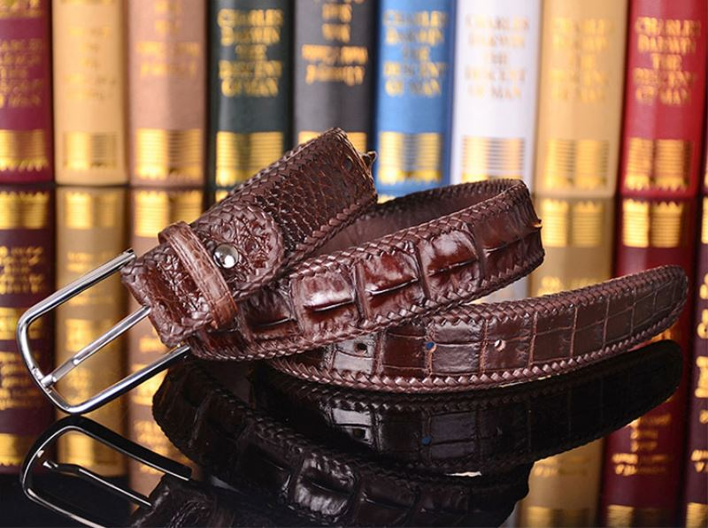 American Alligator Skin Belt