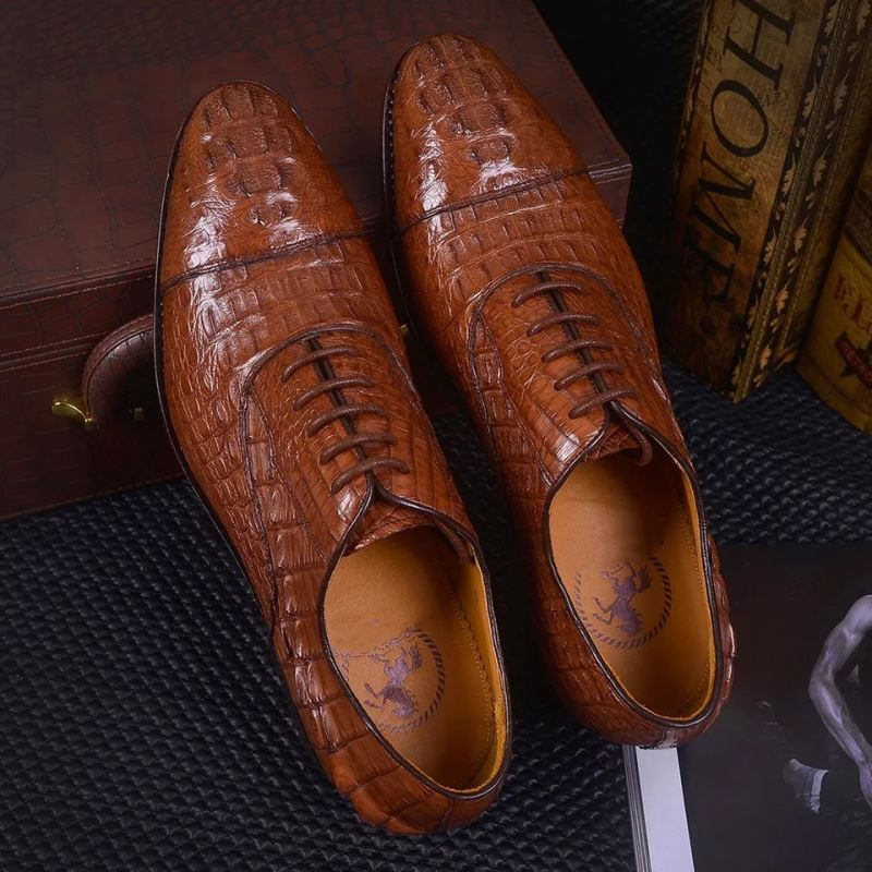 Caiman Crocodile Shoes