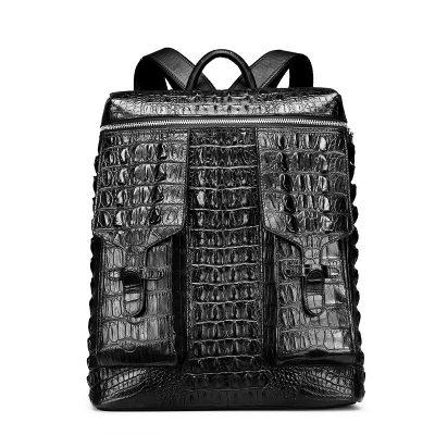 Crocodile Backpack School College Bookbag Laptop Computer Bag