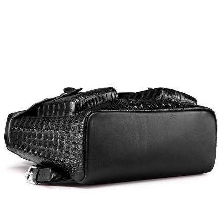 Crocodile Backpack School College Bookbag Laptop Computer Bag-Bottom