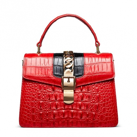 Crocodile Handbags Purses Shoulder Bags for Women