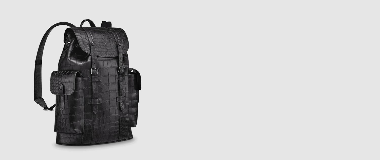 Crocodile Skin Backpacks and Alligator Skin Backpacks