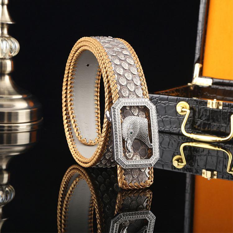 Python Skin Belt