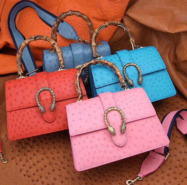 Summer Fashion Trends- Ostrich Skin Handbags