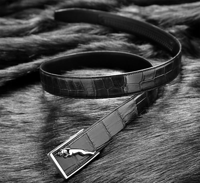 Top luxury men's alligator belt from BRUCEGAO