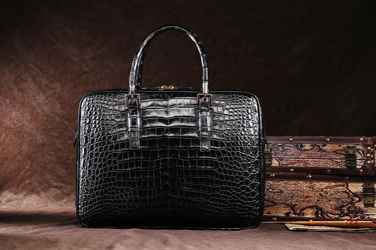 Alligator Business Bag from BRUCEGAO