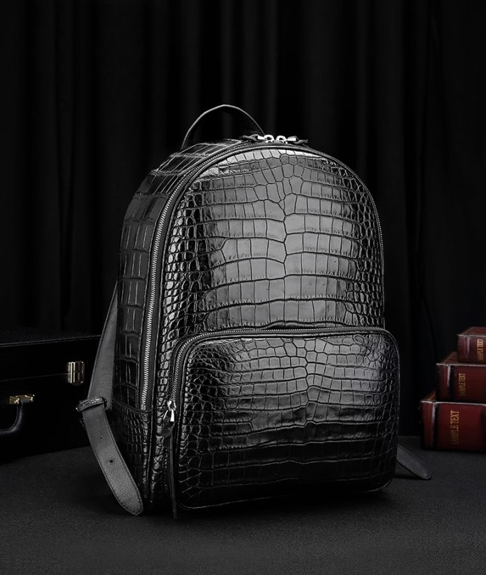 Exotic leather backpacks-Alligator Backpacks