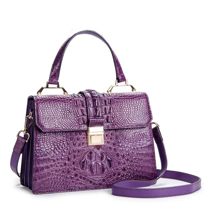 Siamese Crocodile Handbag