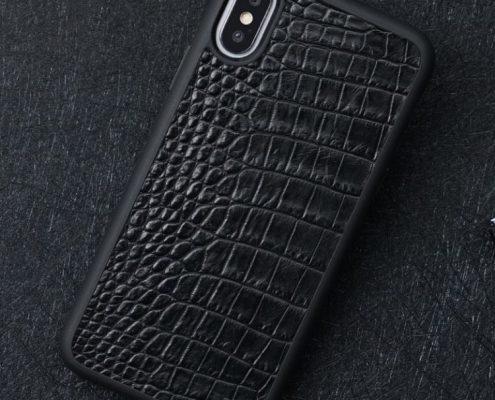 Vintage alligator skin iPhone case