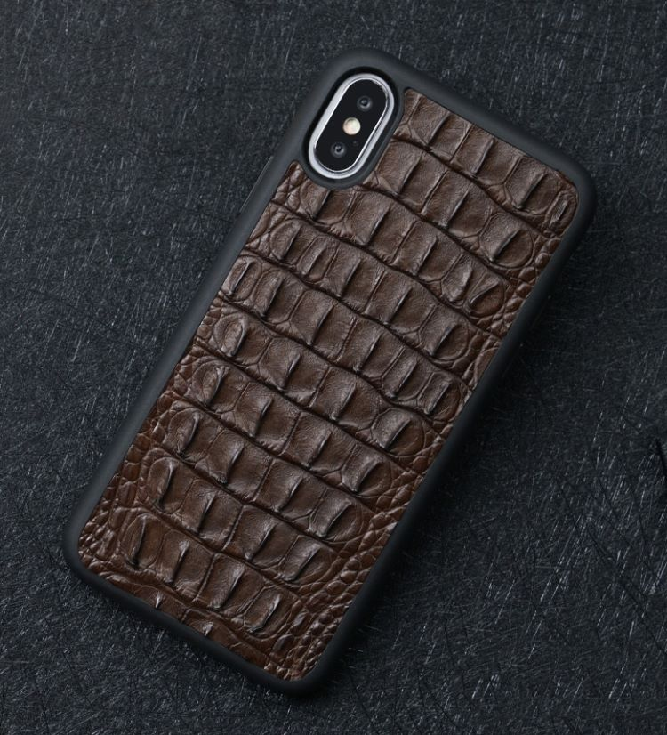 Vintage crocodile iPhone case