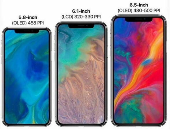 iPhone XI、iPhone X Plus