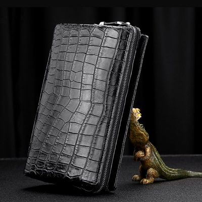 Alligator Leather Wallet Business Alligator Clutch