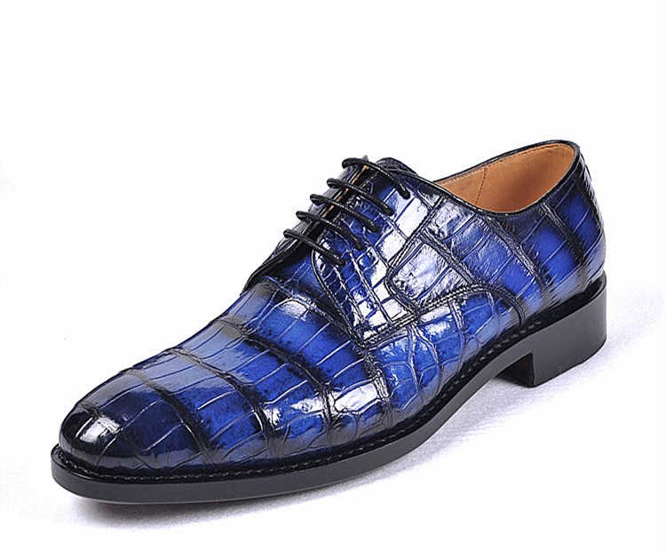 Alligator Shoes for Business Meeting
