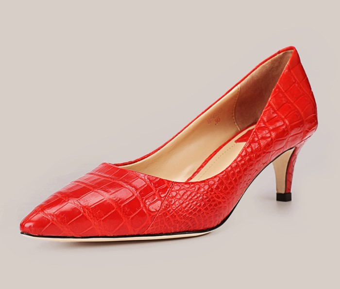 Business Fashion Tips-Womens Alligator Shoes