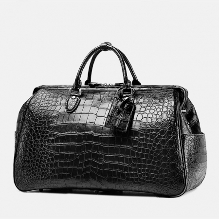 Crocodile Duffle Bag, Alligator Duffle Bag-1