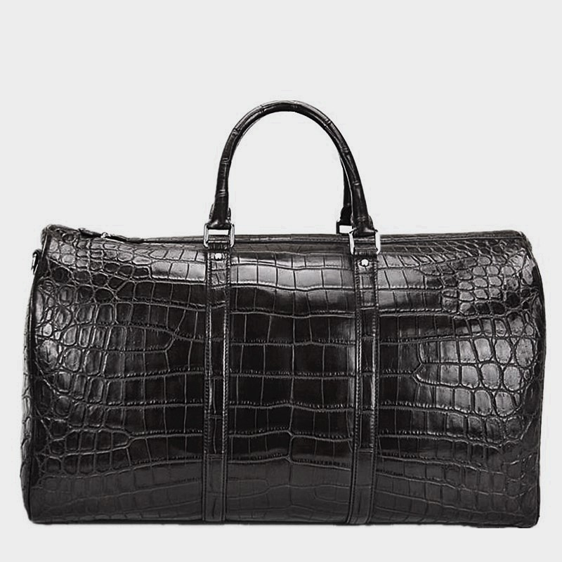Crocodile Duffle Bag, Alligator Duffle Bag-2