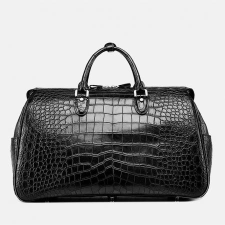 Crocodile Duffle Bag, Alligator Duffle Bag-Back