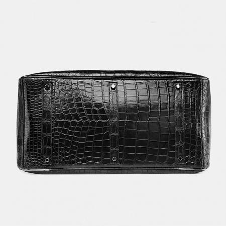 Crocodile Duffle Bag, Alligator Duffle Bag-Bottom