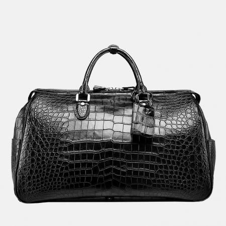 Crocodile Duffle Bag, Alligator Duffle Bag-Front