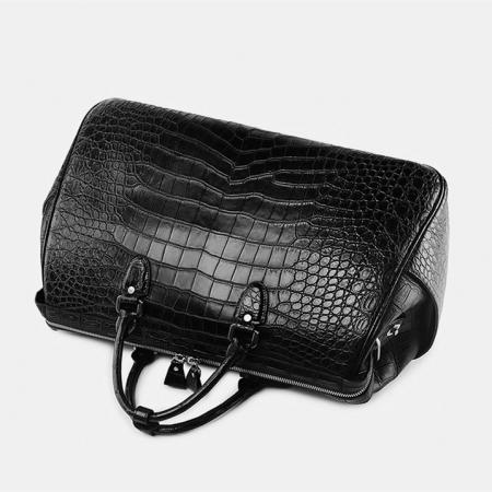 Crocodile Duffle Bag, Alligator Duffle Bag-Handle