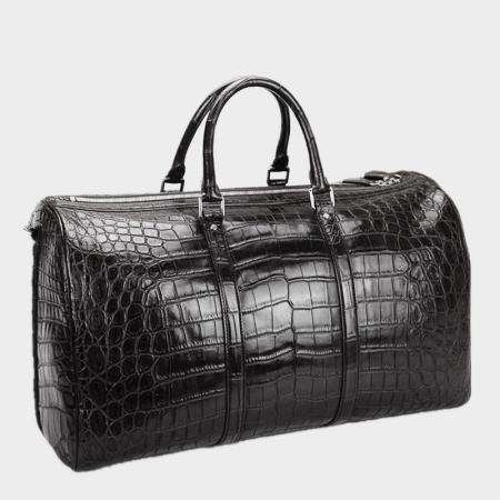 Crocodile Duffle Bag, Alligator Duffle Bag for Men