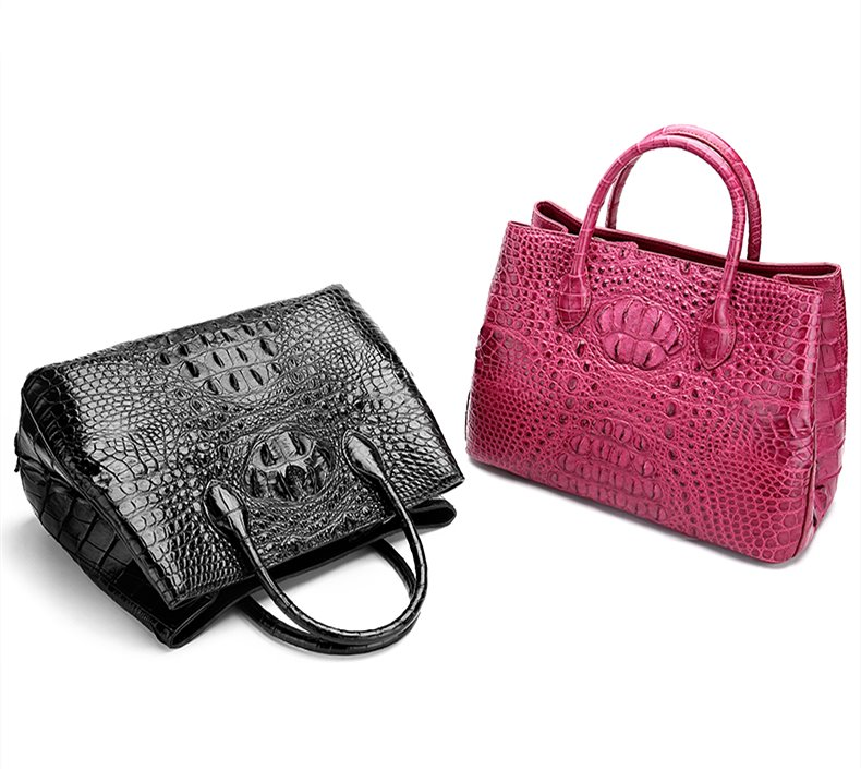crocodile skin handbag 2018 new