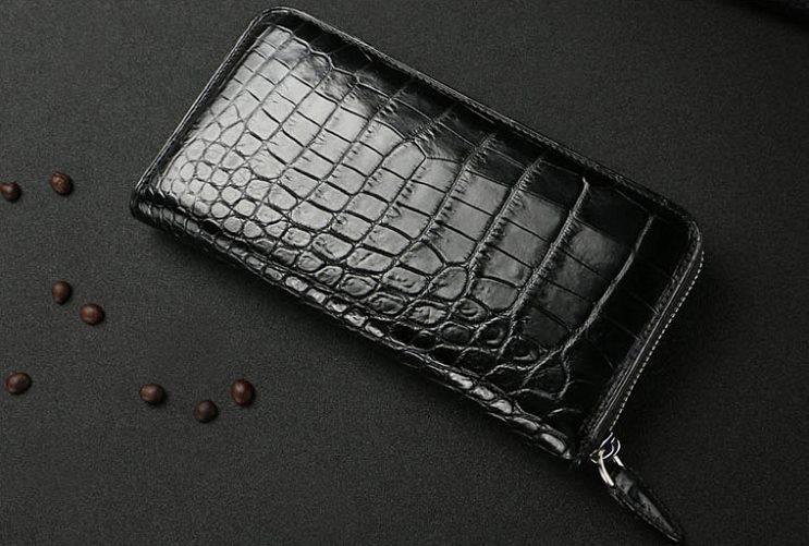 Alligator Wallet Larger Genuine Alligator Clutch Wallet