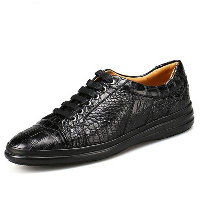 Casual Alligator Shoes Fashion Alligator Sneakers for Men
