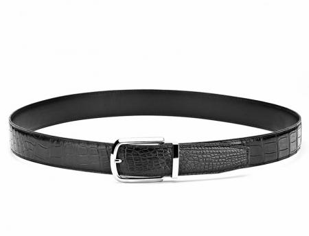 Classic Alligator Belt Adjustable Dress Belt