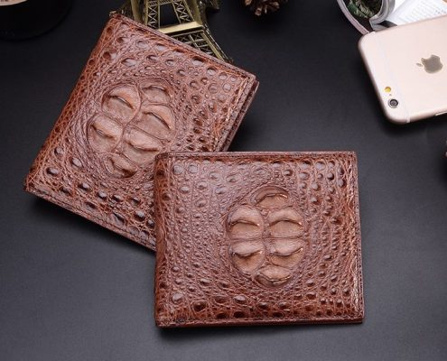 Crocodile Hornback Unique Genuine Skin Wallet for Men