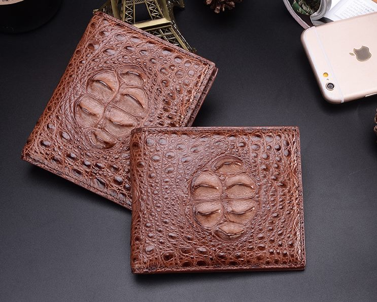 Crocodile Hornback Unique Genuine Skin Wallet for Men
